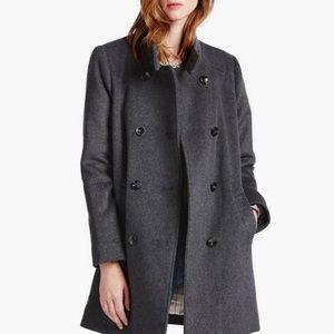 LUCKY BRAND wool pea coat
